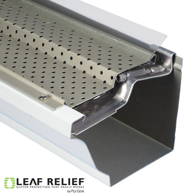 Leaf Relief for Zip Hangers - easy to install - Best Gutter Services Philadelphia Suburbs